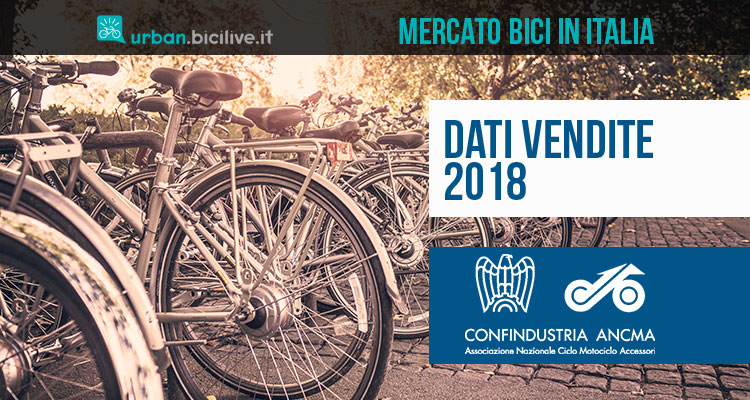 dati vendite 2018 bici in italia encma