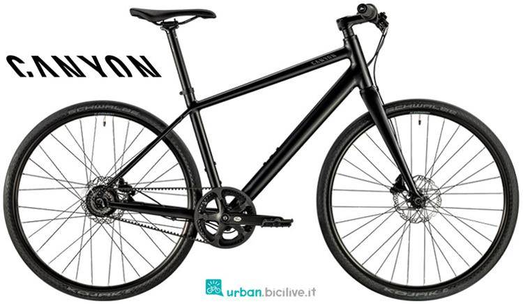 Una bicicletta da città Canyon Commuter Sport 5.0 del 2019