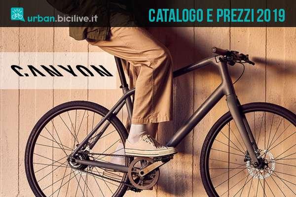 Le bici da fitness e da passeggio di Canyon: il catalogo 2019