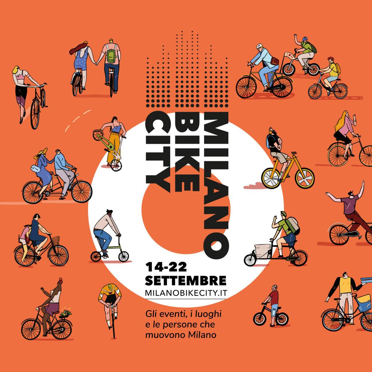 La locandina ufficiale di Milano Bike City 2019