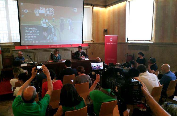 La presentazione di Milano Bike City a Palazzo Marino