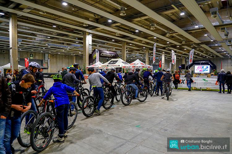 al cosmobike show 2020 presente anche area demo aperta a tutti i visitatori per provare le bici 2019