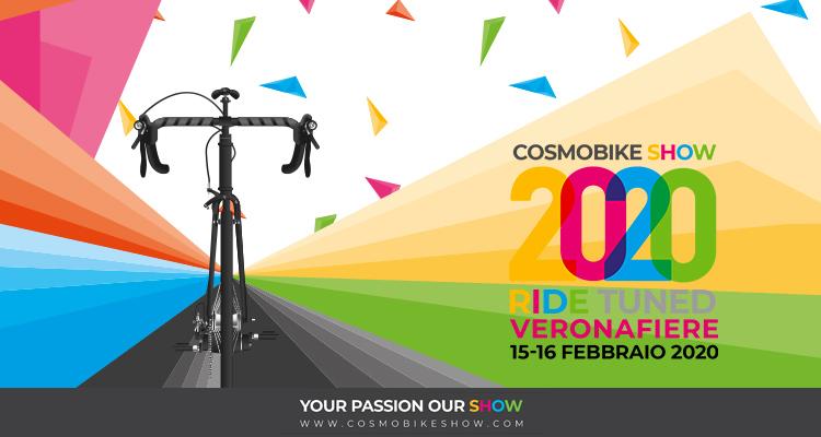 flyer evento fiera cosmobike show 2020 a verona fiere 2019