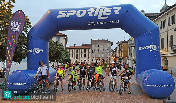 arrivo bike night 2019