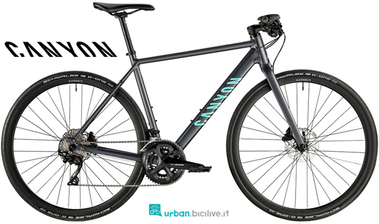 Una bici da fitness Canyon Roadlite 7.0