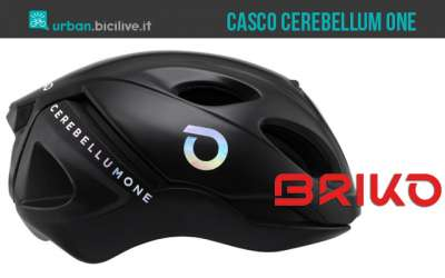 Briko Cerebellum One, il casco ciclista salvavita intelligente