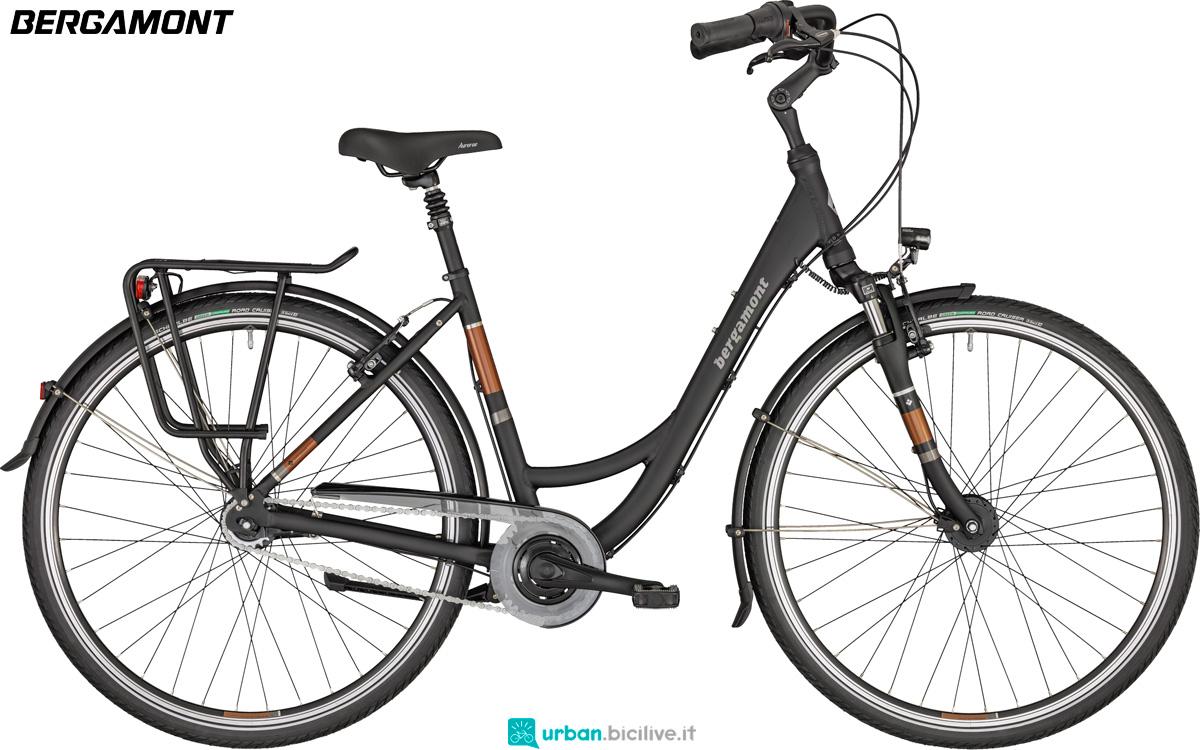 Una city bike Bergamont Belami N7