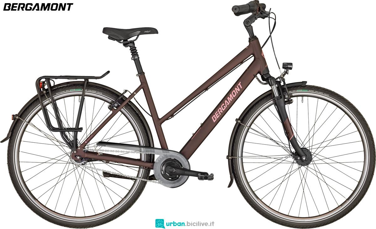 Una bicicletta da trekking Horizon N7 CB Lady dal catalogo 2020 Bergamont