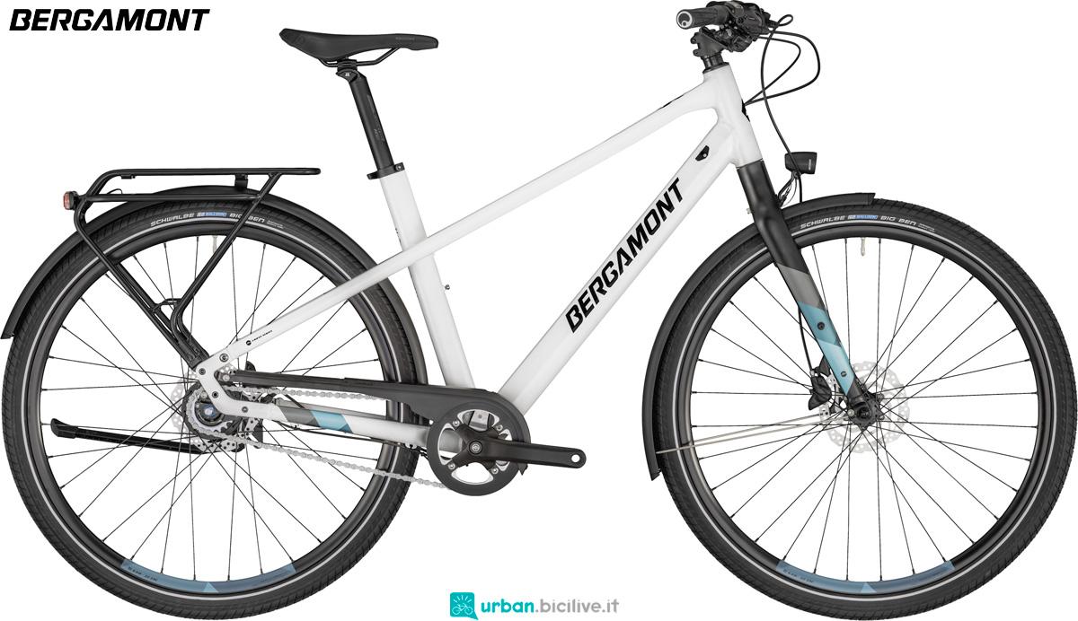 Una bici urbana Bergamont Solace 7 gamma 2020