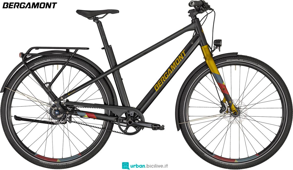 Una bici urban Bergamont Solace 9 anno 2020