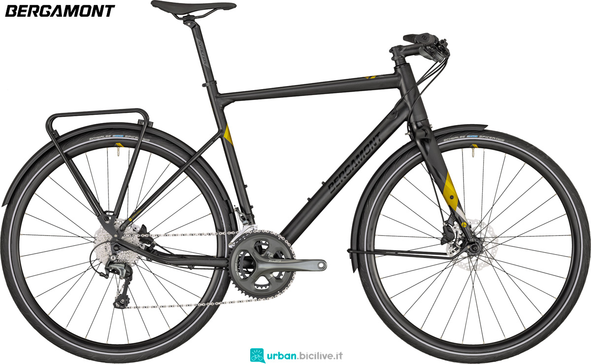 Una bicicletta urban Bergamont Sweep 6 EQ catalogo 2020