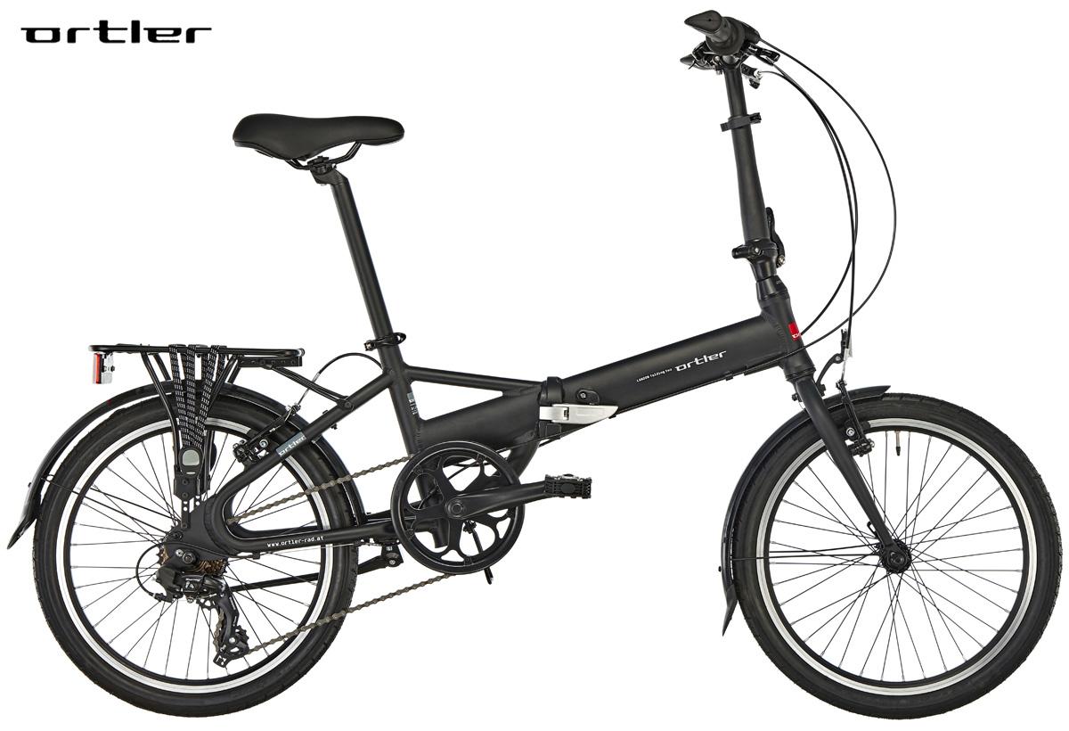 Una bici pieghevole Ortler London Two 20″ Black 2019
