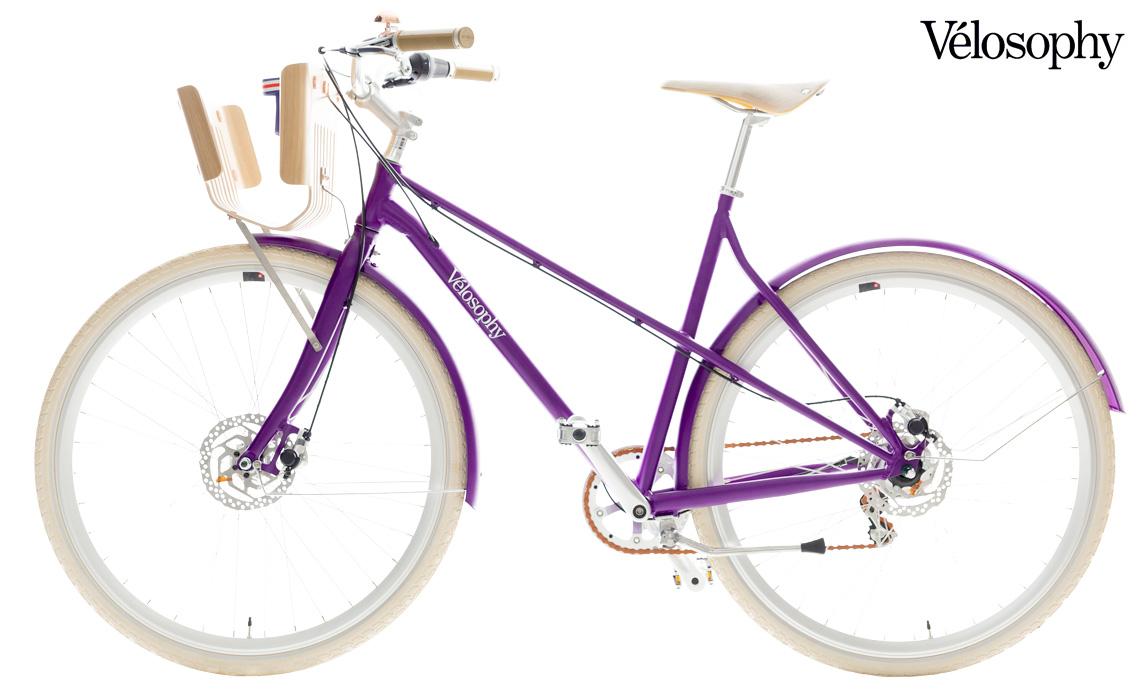 Una bici da passeggio urbano Vélosophy Re:Cycle