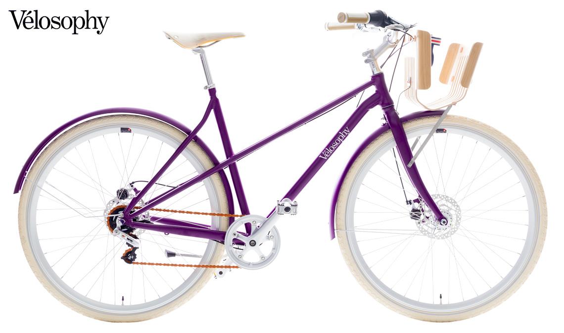La bicicletta Vélosophy Re.Cycle con telaio in alluminio riciclato