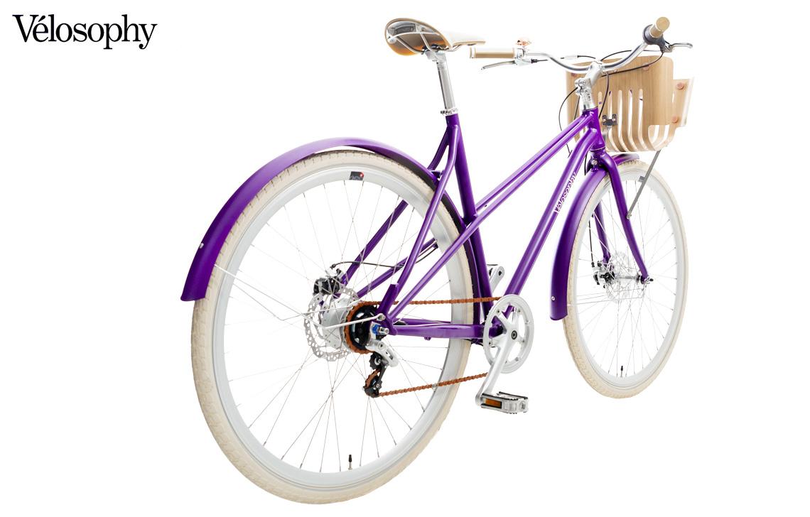Una bicicletta con telaio in alluminio riciclato Vélosophy Re:Cycle