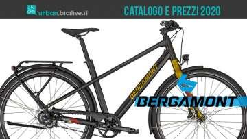 Le biciclette da trekking, urban e city di Bergamont: catalogo e listino prezzi 2020