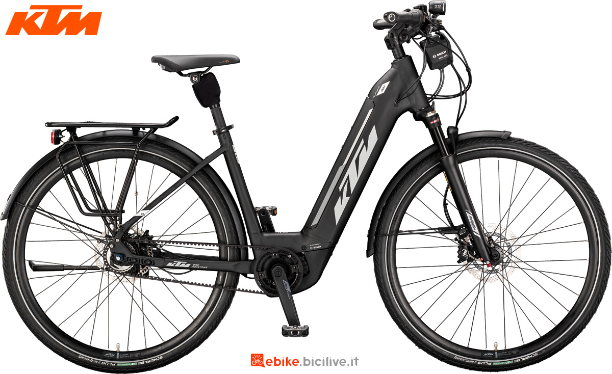 Una e-bike Macina City 5 ABS dal catalogo 2020 KTM