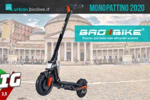 Mig Mad Air il primo monopattino di Bad Bike