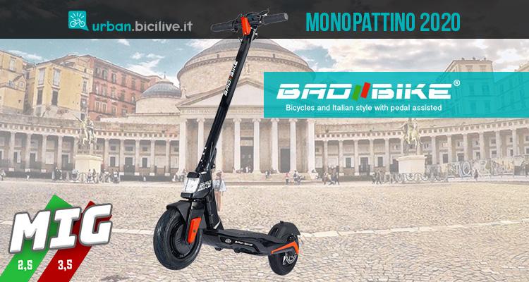 Mig Mad Air il primo monopattino di Bad Bike