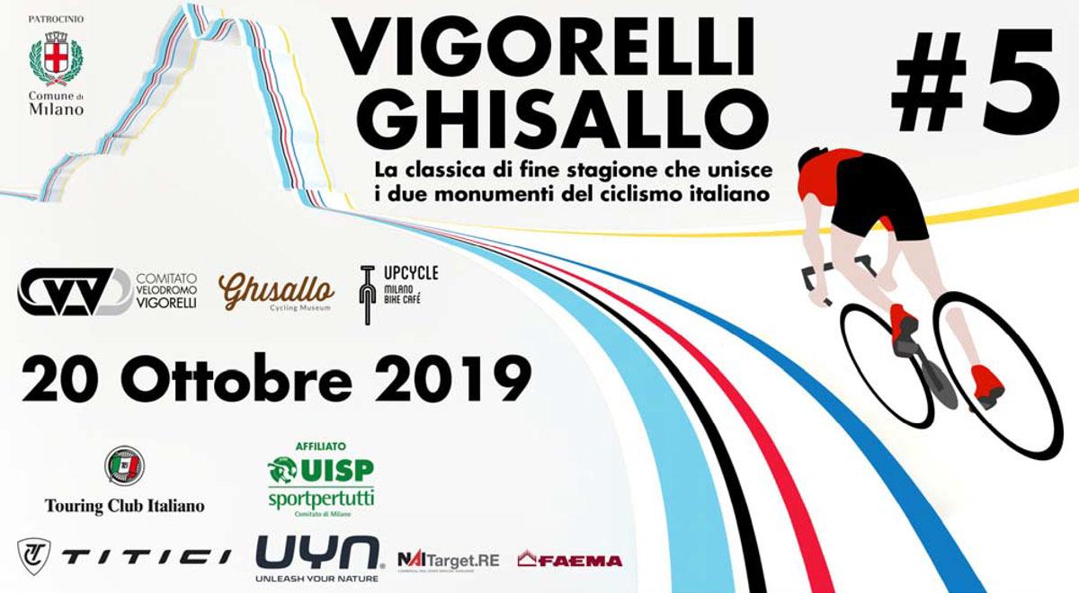La Locandina dell'evento Vigorelli-Ghisallo 2019