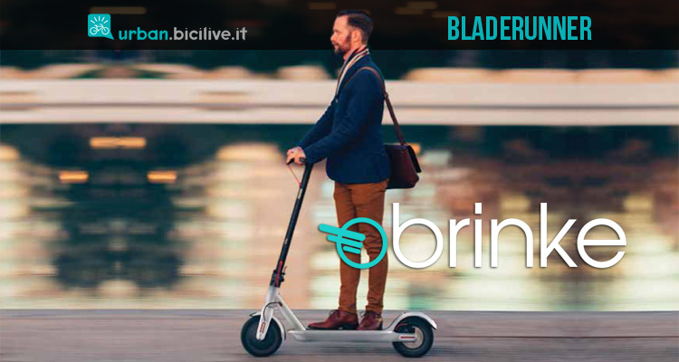 Monopattino elettrico Brinke Bladerunner: la nuova frontiera della micro-mobilità
