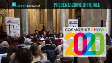 CosmoBike Show 2020: la presentazione a Milano nella Sala Reale