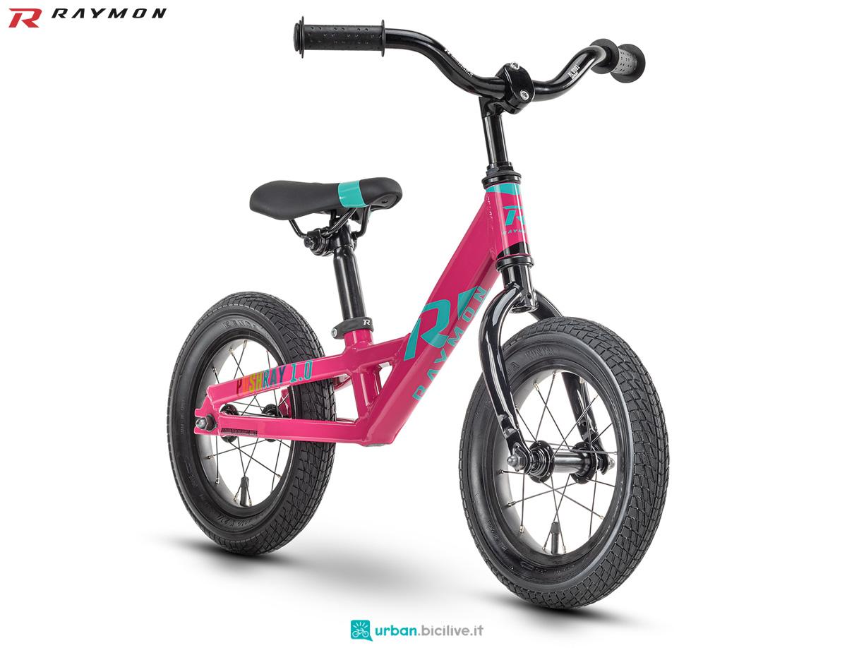 Una bici senza pedali R Raymon PUSHRAY 1.0