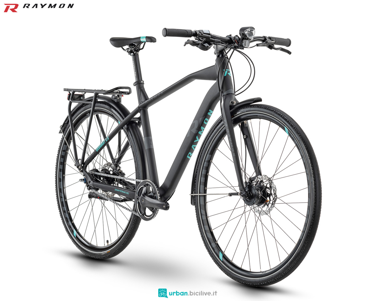 Una bicicletta per le commissioni in città R Raymon URBANRAY 3.0