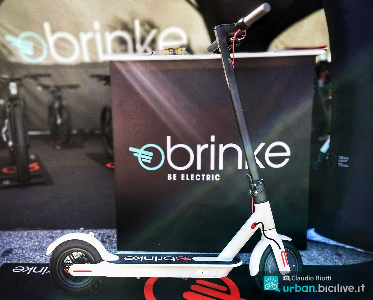 Il monopattino elettrico Brinke Bladerunner 2020