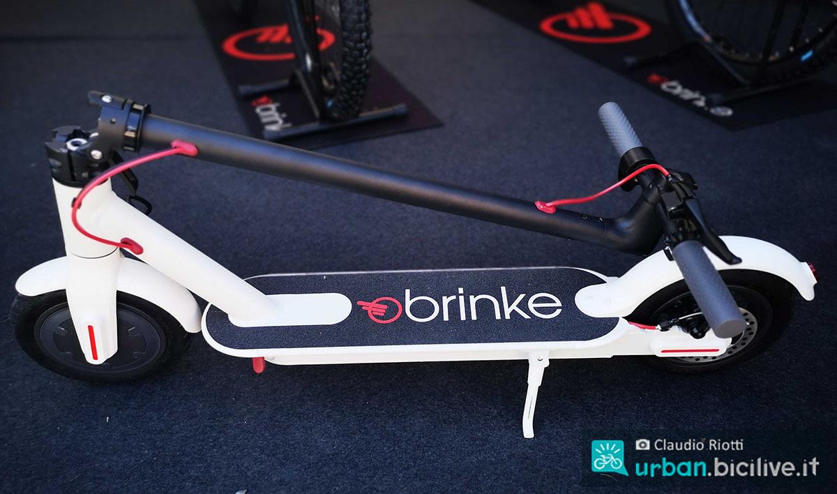 Il monopattino elettrico Brinke Bladerunner pieghevole 2020