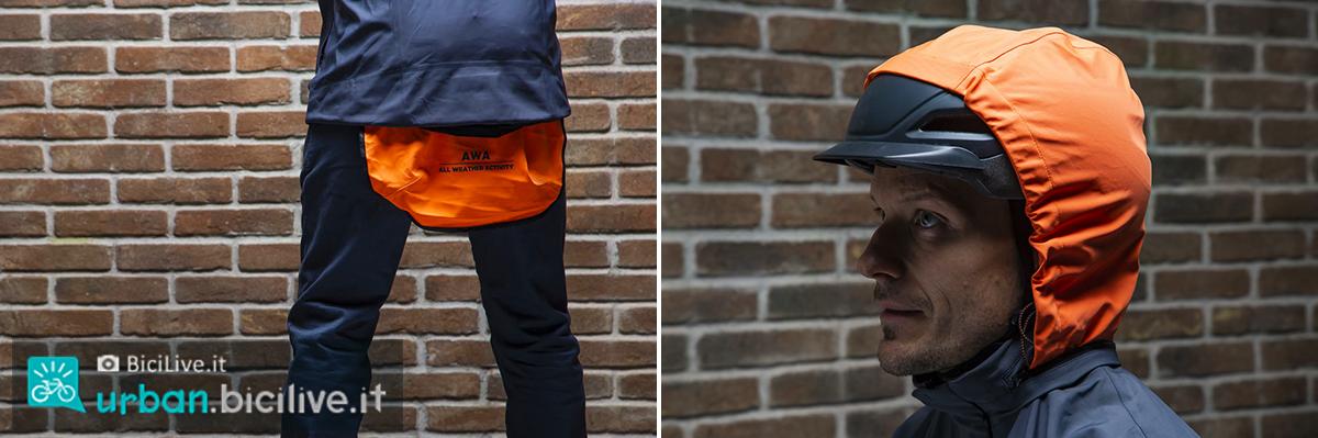 Foto della giacca AWA 3L black di Dainese