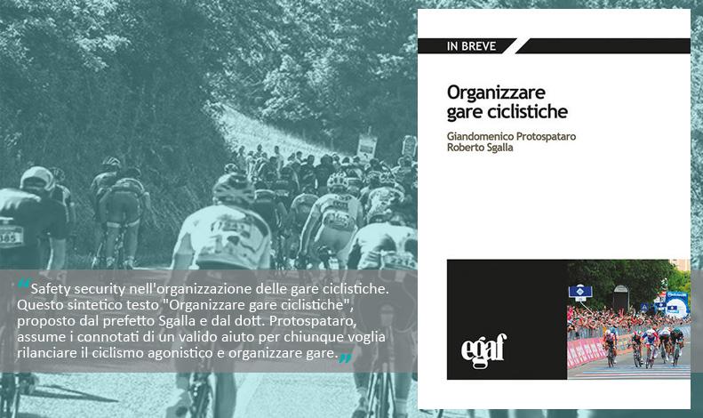 La copertina del libro Organizzare Gare Ciclistiche