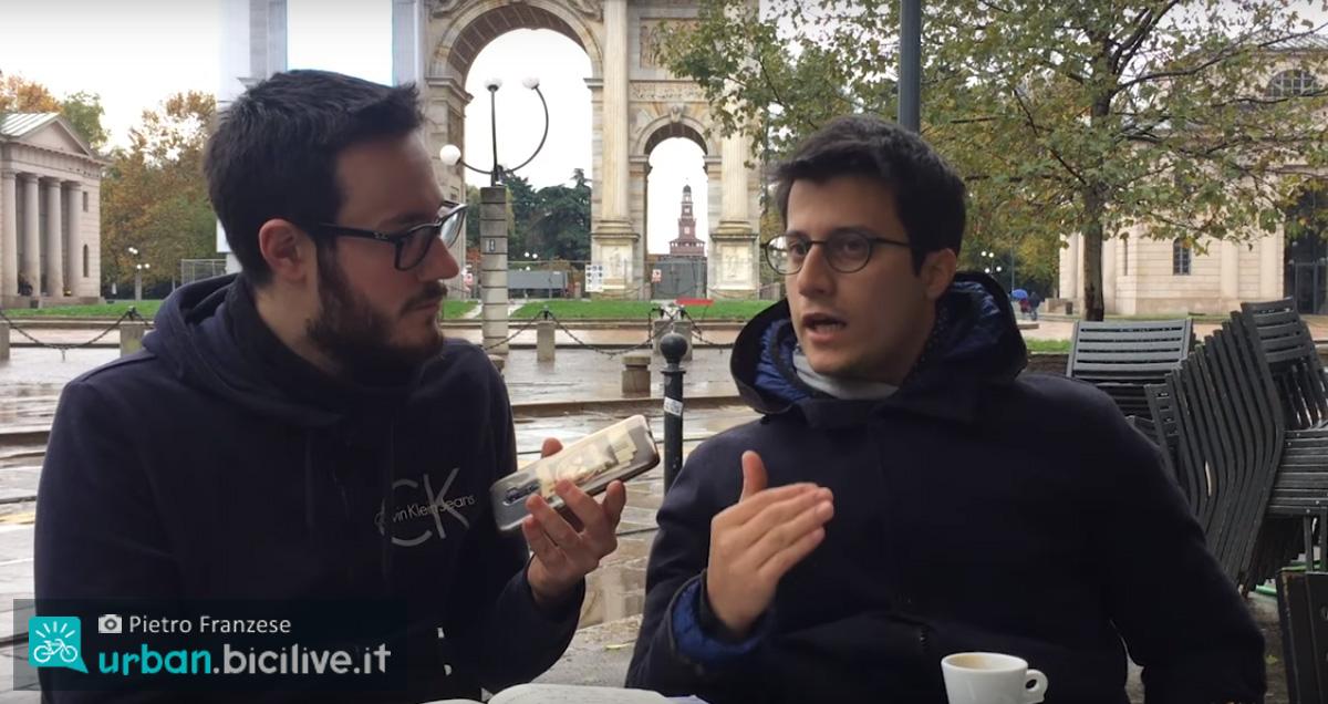 Pietro Franzese intervista Michele Cremonesi a Milano