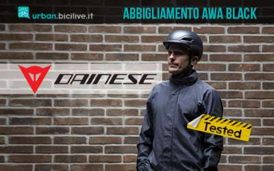 Test abbigliamento urban Dainese AWA Black