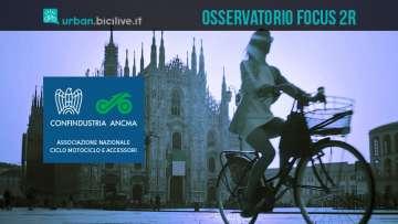 ANCMA Osservatorio Focus2R: in Italia è boom di cicli e motocicli