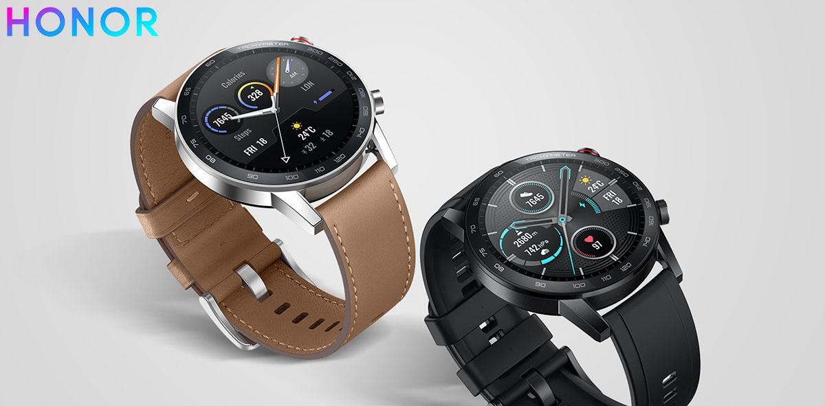 Gli orologi HONOR MagicWatch 2 disponibili in varie colorazioni