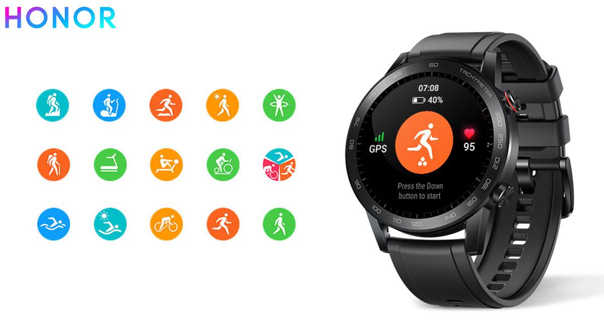 L'orologio HONOR MagicWatch 2 con integrato monitoraggio attività fisica