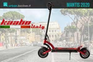 Kaabo Mantis 2020: monopattino elettrico motore 500 Watt