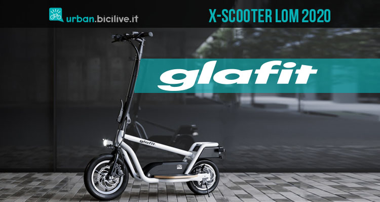 X-Scooter LOM: il monopattino giapponese