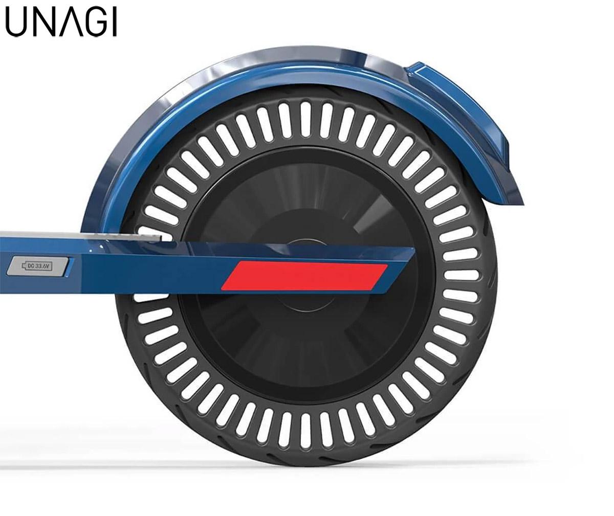 Il motore montato sul monopattino Unagi The Model One 2020