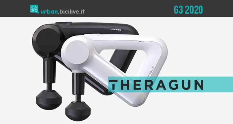 Theragun G3: terapia a percussione e massaggi sportivi rigeneranti, a casa tua