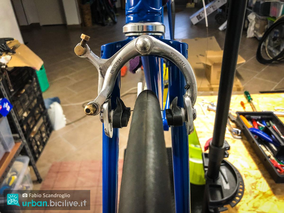 foto dei freni di una bici