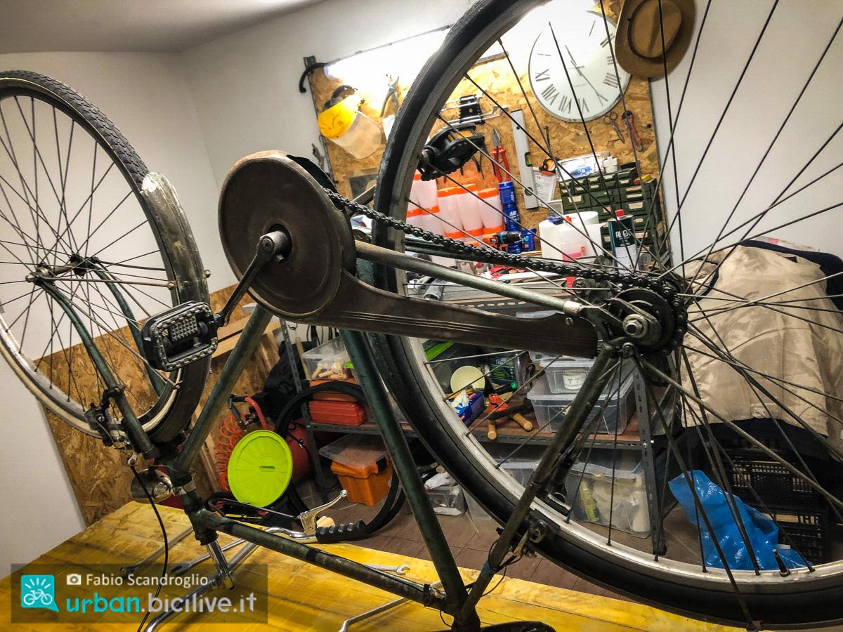 foto della bici del nonno