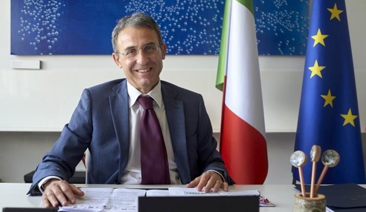 Il ministro dell'Ambiente italiano Sergio Costa