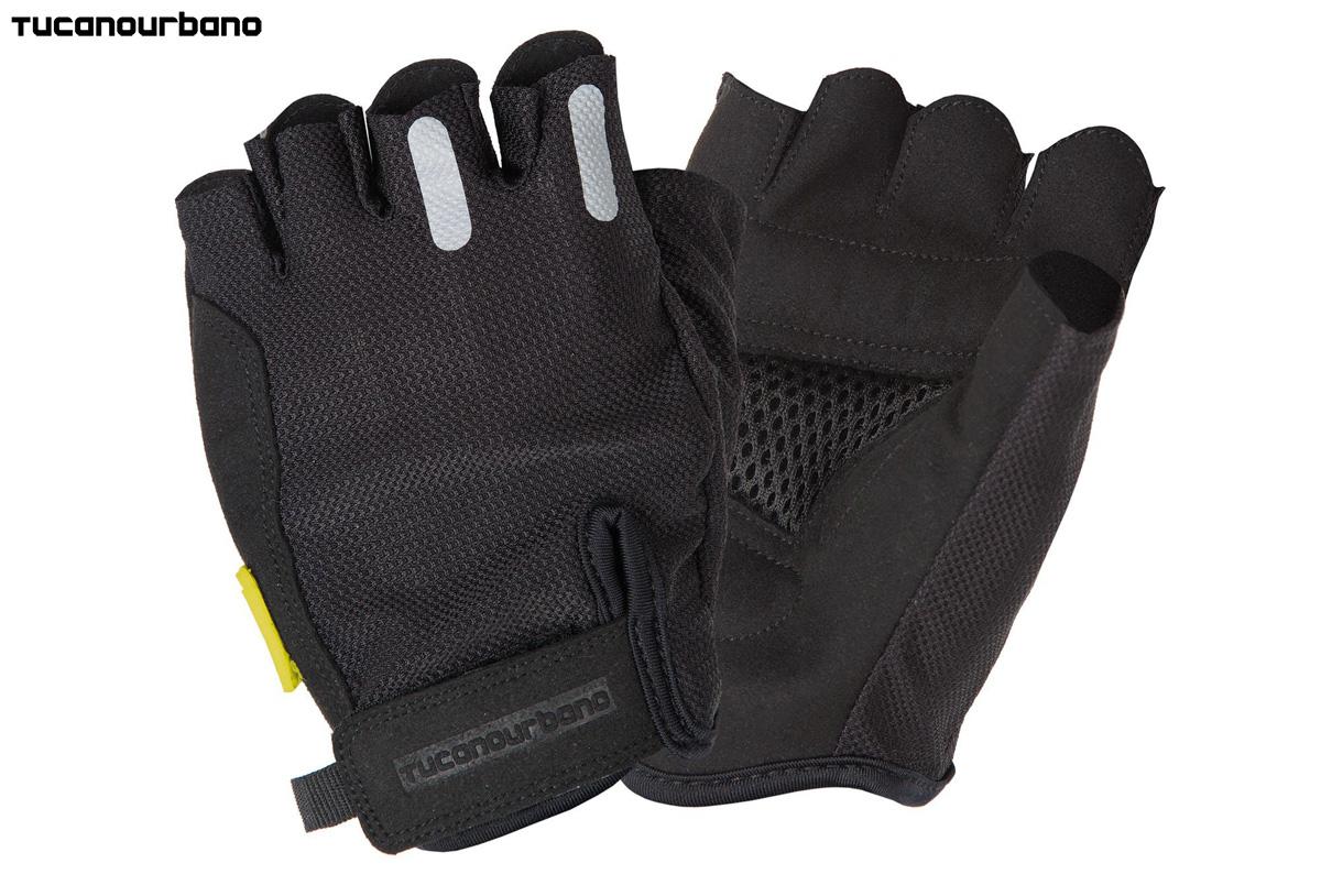 Un paio di guanti da ciclista Freccia Short di Tucano Urbano Cycling