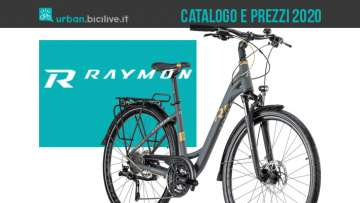 R Raymon: catalogo e listino prezzi 2020 biciclette Urban e Trekking