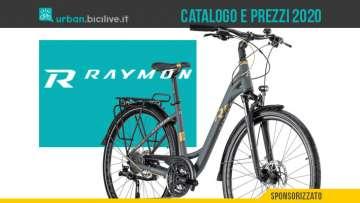 Le bici urban e trekking 2020 di R Raymon: catalogo e listino prezzi