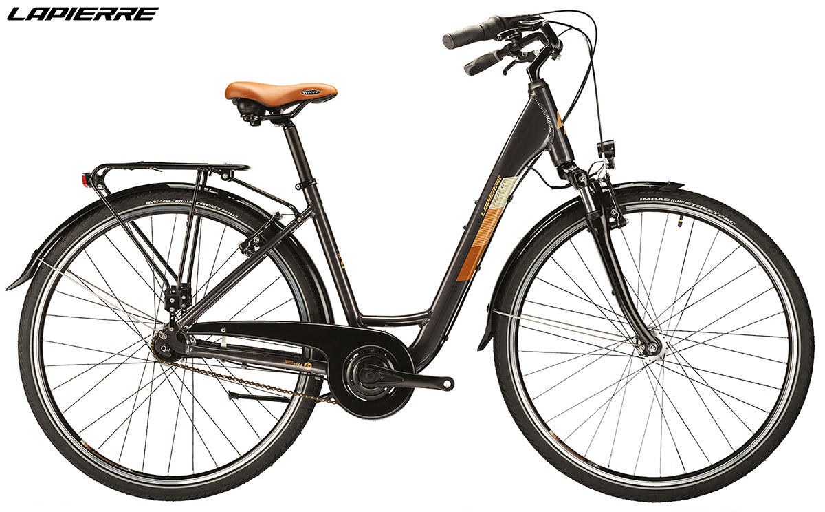 Una bici Lapierre Urban 400 2020