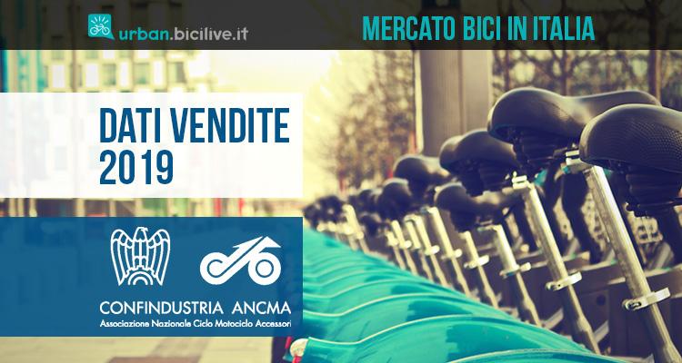 Dati ANCMA 2019: continua la crescita delle vendite di biciclette