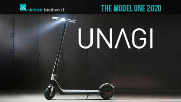 Unagi The Model One, il monopattino elettrico minimale e tecnologico
